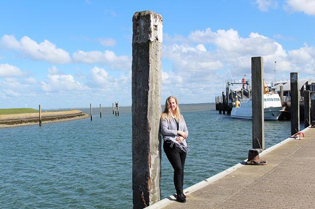 Foto Amrit am Hafen auf Norderney