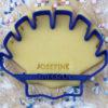 Keks Ausstechform Herzmuschel mit Wunschtext personalisiert