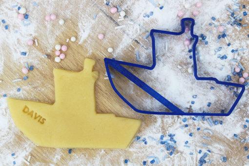 Keks Ausstechform Kutter mit Wunschtext personalisiert
