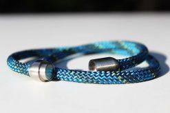 Segeltau Armband Lee Bellablue mit 6mm Magnetverschluss