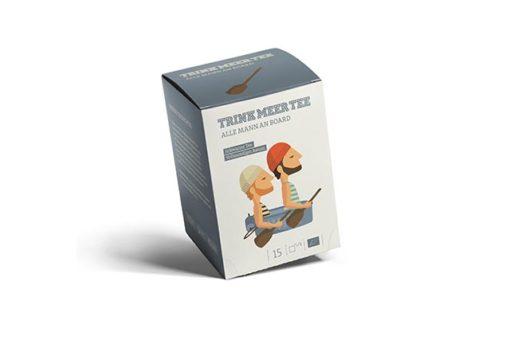 Trink Meer Tee Schwarzer Tee Teebeutel