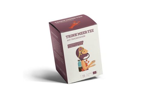 Trink Meer Tee Früchtetee Teebeutel