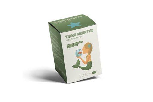 Trink Meer Tee Grüner Tee Teebeutel