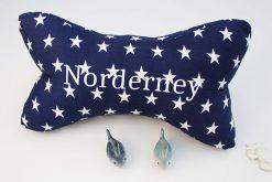Lesekissen Norderney Sterne