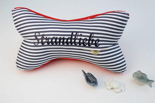 Lesekissen Strandliebe maritim