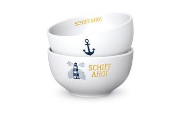 Müslischale Schiff Ahoi